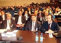 مشاركة وفد مغربي مؤتمر الأمم المتحدة لمنع الجريمة والعدالة الجنائية المنعقد بالبرازيل مابين 12 و 19 أبريل )