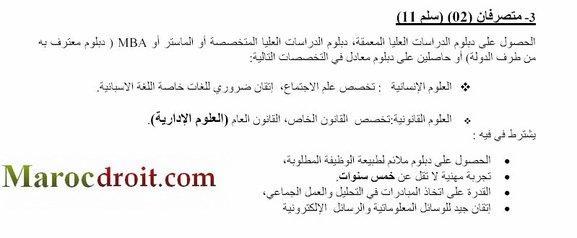 إعلان المكتبة الوطنية للمملكة المغربية عن تنظيــم انتقاء لتوظيف أطر