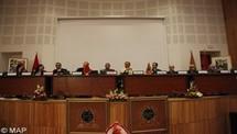 تنصيب المكتب الجديد للودادية الحسنية للقضاة