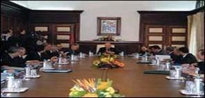 مجلس الحكومة يناقش مشروع مرسوم يتعلق بتحديد اختصاصات وتنظيم وزارة العدل