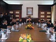 مجلس الحكومة يصادق على مشروع مرسوم يتعلق بتحديد اختصاصات وتنظيم وزارة العدل