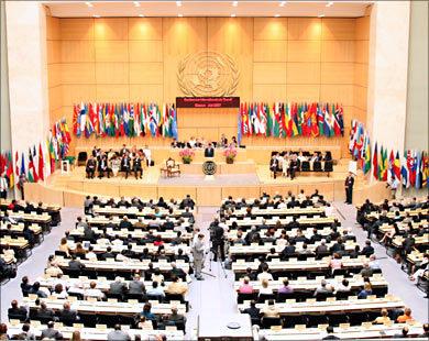انطلاق أشغال المؤتمر الدولي المائوي لمنظمة العمل الدولية لبحث ضرورة عهد جديد للعدالة الاجتماعية