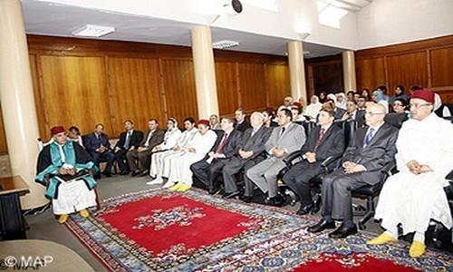 تنصيب الرئيس الأول لمحكمة الاستئناف الإدارية بالرباط
