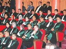 مؤسسة الوسيط ترفض تسلم رسالة منع الجمع التأسيسي للقضاة