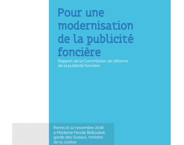 فرنسا: نسخة من دراسة رسمية حول جدوى تحديث نظام الإشهار  العقاري