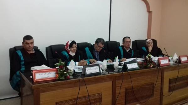 مناقشة أطروحة في موضوع في موضوع الشكلية في ظل القانون 53.05 المتعلق بالتبادل الإلكتروني للمعطيات القانونية من إنجاز الباحث أمين الموساوي