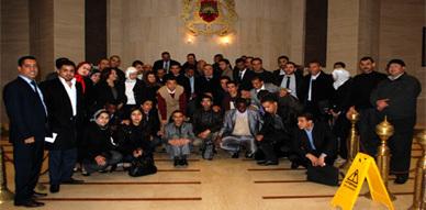 زيارة ميدانية لطلبة ماستر الدراسات الدستورية والسياسية لمقر البرلمان