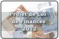 projet de la Loi de Finances 2012: Version en Français et  en Arabe