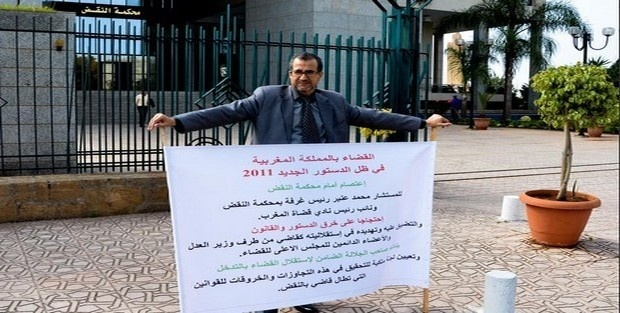عندما يعتصم القضاة: قراءة في اعتصام المستشار محمد عنبر أمام محكمة النقض