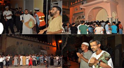 الأمن بزايو يتدخل لإخراج أزيد من خمسة عشر معتكفين من جماعة العدل والإحسان بمساجد المدينة