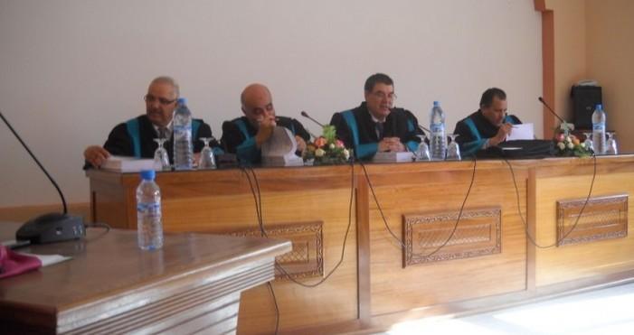 مناقشة أطروحة في موضوع مسؤولية النائب الشرعي  في إدارة شؤون القاصر تحت إشراف الدكتور إدريس الفاخوري