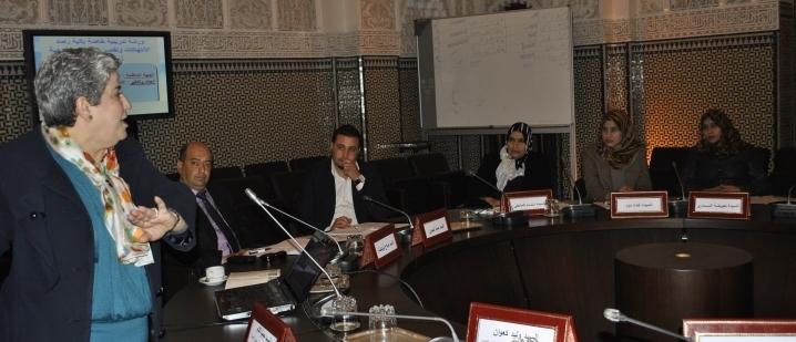 دورة تكوينية لفائدة أطر من المجلس الوطني للحريات العامة وحقوق الإنسان الليبي حول التجربة المغربية في مجال حقوق الإنسان والعدالة الانتقالية