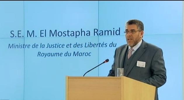كلمة وزير العدل والحريات المصطفى الرميد بمناسبة انعقاد الدورة 25 لمجلس حقوق الانسان