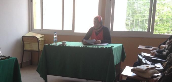 ماستر قانون العقود والعقار: مناقشة رسالة تحت عنوان الرقابة الجبائية على التصرفات العقارية – البيع العقاري نموذجا تحت إشراف الدكتور الحسين بلحساني تقدمت بها الباحثة مريم نجاري