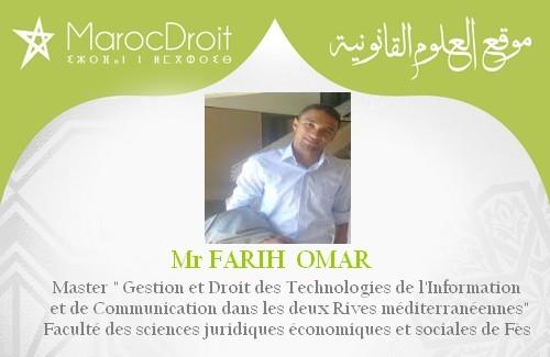 Cadre conceptuel et théorique de la cybercriminalité Par Mr FARIH  OMAR