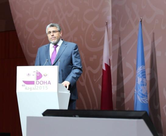 كلمة السيد وزير العدل والحريات بمناسبة مؤتمر الأمم المتحدة الثالث عشر لمنع الجريمة، والعدالة الجنائية
