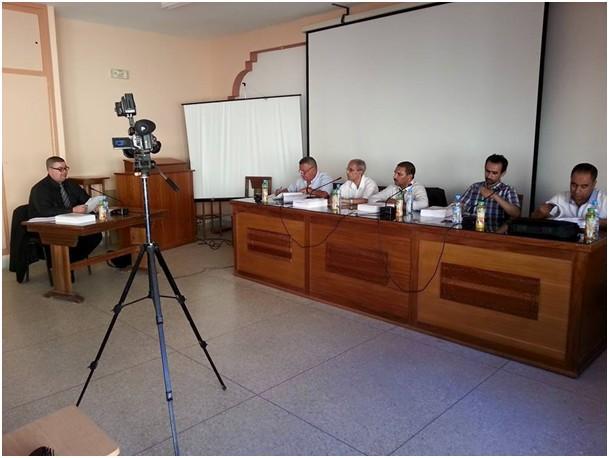 مناقشة أطروحة في موضوع نظام الرقابة على الجماعات الترابية بالمغرب ومتطلبات الملاءمة، تحت إشراف الدكتور أحمد بودراع  للباحث عماد أبركان
