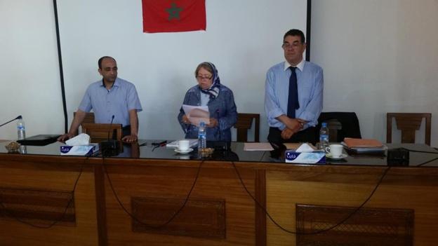 مناقشة رسالة في موضوع الحماية القانونية لخدم البيوت تحت إشراف الدكتورة دنيا مباركة تقدم بها الباحث سفيان بلحسن