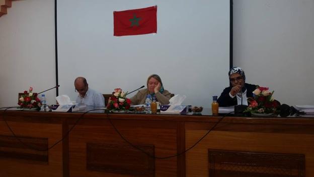 مناقشة رسالة في موضوع الحماية القانونية والقضائية لمندوب الأجراء   تحت إشراف الدكتورة دنيا مباركة تقدم بها الباحث أشرف الشيباني