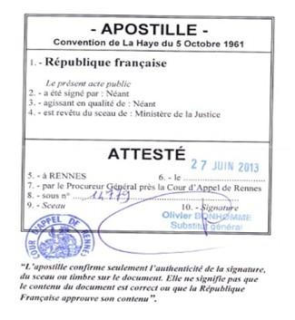 قراءة مختصرة  في اتفاقية لاهاي الدولية المتعلقة بإلغاء إلزامية التصديق بتاريخ 5 أكتوبر 1961 - نظام الأبوستيل وأثاره على الفعالية الدولية للعقود الرسمية.