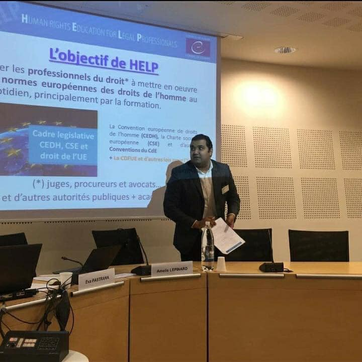تهنئة للأستاذ حاتم بكار على إعتماده مسؤولا وطنيا بالمملكة المغربية عن برنامج HELP  بإعتباره خبيرا معتمدا لدى المجلس الأوروبي - التفاصيل