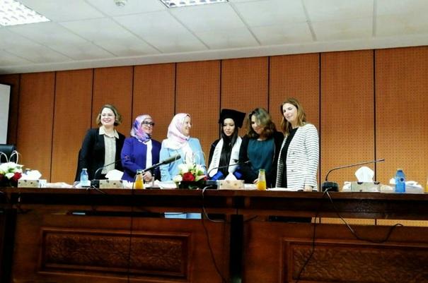Rapport de soutenance de thèse de doctorat en droit privé, sous le thème « Le droit de l'environnement et la protection de la santé publique au Maroc »,  Préparée par la doctorante Meryem EL MEKKAOUI,  Sous la direction de Pr. Bouchra NADIR