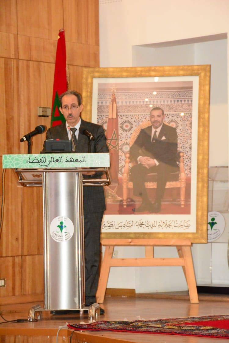 كلمة السيد رئيس النيابة العامة في ندوة مرفق العدالة على ضوء تقرير النموذج التنموي الجديد