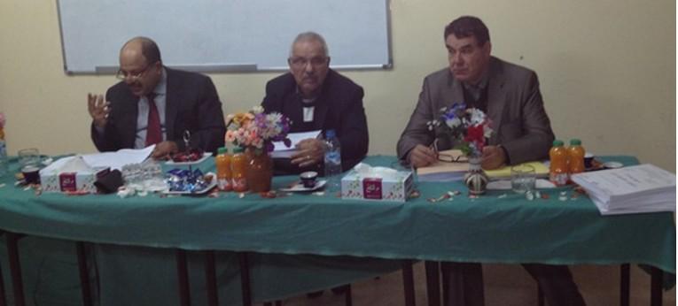 ماستر العقود و العقار: مناقشة رسالة تحت عنوان الآجال في قانون التحفيظ العقاري تحت إشراف الدكتور الحسين بلحساني