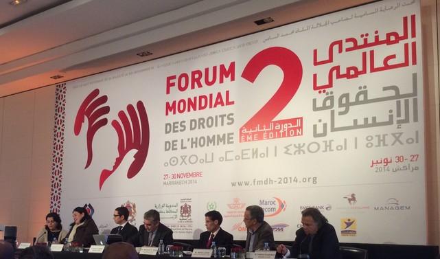 حول  أشغال الدورة الثانية للمنتدى العالمي لحقوق الإنسان