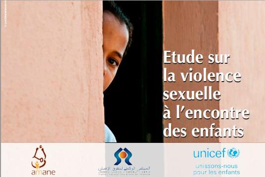 Etude sur la violence sexuelle à l'encontre des enfants au Maroc