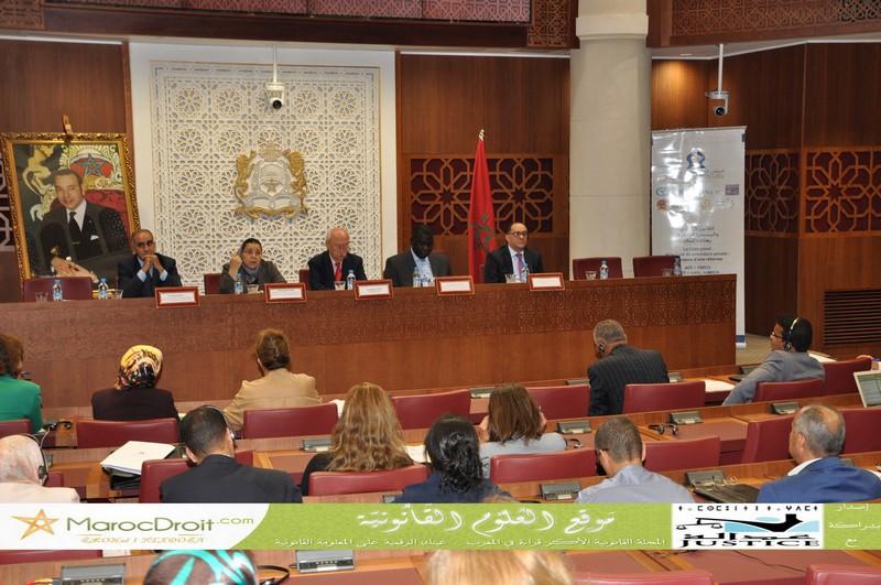 تقرير حول أشغال الجلسة العامة الأولى لليوم الثاني من ندوة المجلس الوطني لحقوق الإنسان حول القانون الجنائي والمسطرة الجنائية رهانات وإصلاح بمقر مجلس النواب