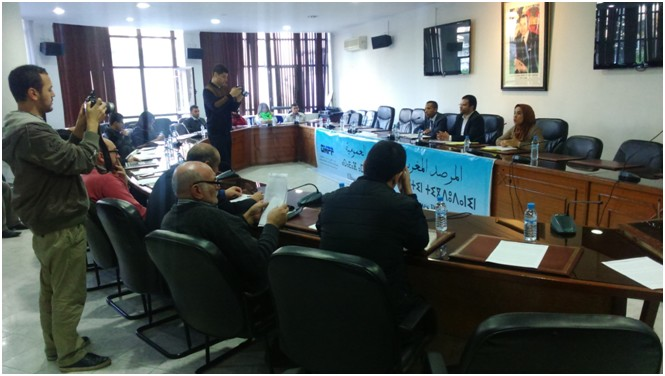 """خلاصة الندوة الصحفية المنظمة من طرف """"المرصد المغربي للسياسات العمومية"""" حول مشروع قانون المالية لسنة 2016 بغرفة التجارة والصناعة والخدمات بطنجة"""
