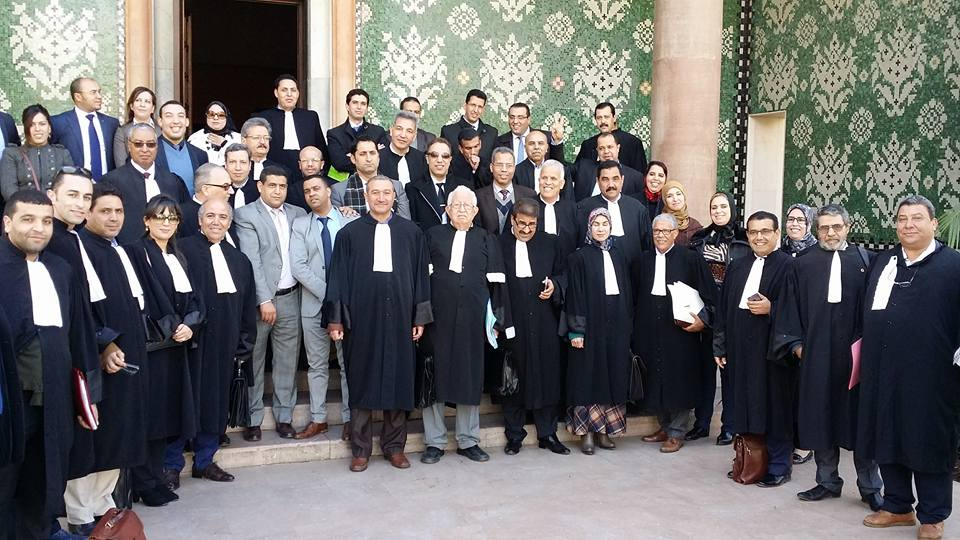 بلاغ هيئة الدفاع عن القاضي الهيني بتاريخ 18/01/2016