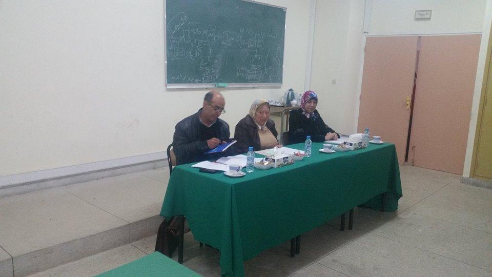 مناقشة رسالة في موضوع مسؤولية مقاول البناء من الباطن تحت إشراف الدكتورة دنيا مباركة تقدم بها الباحث ياسين كوباشي