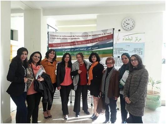 """ورشة عمل حول موضوع """"سلسلة الخدمات المقدمة للنساء الناجيات من عنف النوع..أي تنسيق في أفق أي أرضية مشتركة؟"""""""