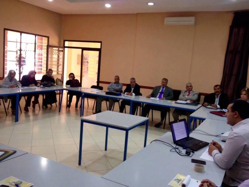 """حول المائدة المستديرة المنعقدة بوجدة في موضوع """" الحقوق الأساسية والسياسية للمعتقلين والسجناء"""""""