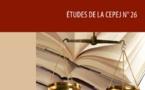 نسخة كاملة من تقرير اللجنة الأوربية لفعالية العدالة والمتضمن لمعطيات حول الأنظمة القضائية في المغرب بعد انخراطه في إعداد التقرير عبر وزارة العدل