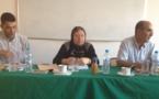 ماستر قانون العقود والعقار: مناقشة رسالة تحت عنوان التزام البنك بالحفاظ على السر المهني للزبون تحت إشراف الدكتورة دنيا مباركة تقدم بها الباحث بلال بوكرينة