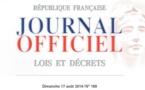 بمقتضى القانون رقم 2014-896  المنشور في الجريدة الرسمية بتاريخ 17 غشت 2014 تعديلات تطال القانون الجنائي الفرنسي بهدف تفريد العقوبة وتعزيز فعالية العقوبات الجنائية