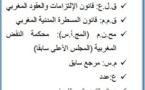 التنظيم القانوني لليمين بالمادة المدنية في التشريع المغربي الواقع والآفاق